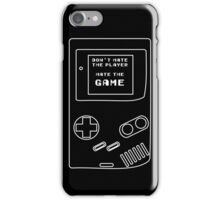 HATE THE GAME iPhone Case/Skin