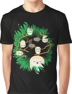 Rowlet Nest Graphic T-Shirt