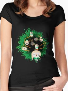 Rowlet Nest Women's Fitted Scoop T-Shirt