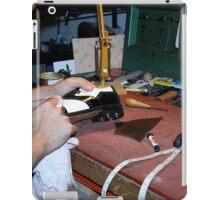 Doc Cobbler at work iPad Case/Skin