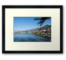 Lake Sa Pa Vietnam Framed Print