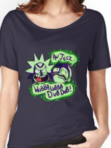 Rick and Morty - Wubba Lubba Dub Dub Women's Relaxed Fit T-Shirt