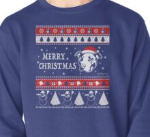 Merry Pitmas Christmas Sweater Design Gift for Pit Lovers Pullover