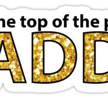 dance moms maddie sticker Sticker
