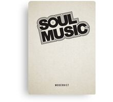 Soul Music Canvas Print