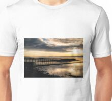 The Old Pier in Culross, Scotland Unisex T-Shirt