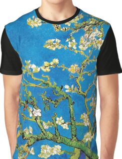 Vincent Van Gogh - Almond Blossoms Fine Art Painting Graphic T-Shirt