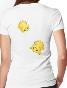 Joltik Static Cling Womens Fitted T-Shirt