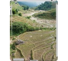 Vietnamese paddy fields iPad Case/Skin