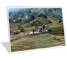 Lai Chau Vietnam Rice fields Laptop Skin