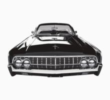 63 Lincoln Continental One Piece - Short Sleeve