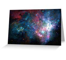 Galaxy print Greeting Card