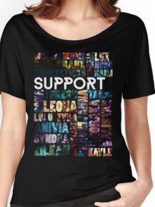 Supports of the League Women's Relaxed Fit T-Shirt