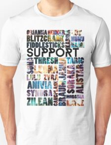 Supports of the League T-Shirt