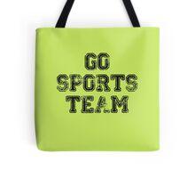 Go Sports Team Tote Bag