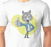 Wolf Can Do It Unisex T-Shirt