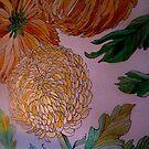 Chrysanthemums 21a1 by Gea Austen