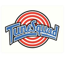 Tune Squad - Space Jam Art Print