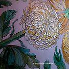 Chrysanthemums 21 c by Gea Austen