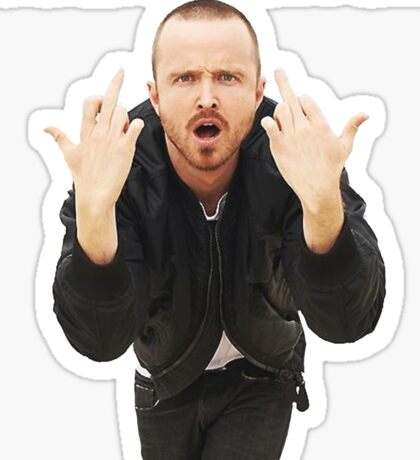 Jesse Pinkman - ''Science Bitch'' - Breaking Bad Sticker