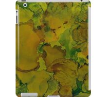 Kohlrabi | Alcohol Ink Abstract iPad Case/Skin