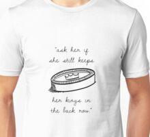 Catcher in the Rye - Kings in the Back Row Unisex T-Shirt