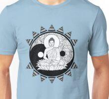 Ying and Yang Buddha Unisex T-Shirt