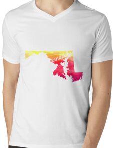 Annapolis Mens V-Neck T-Shirt