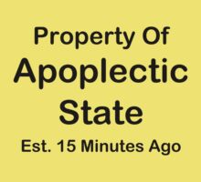 Property Of Apoplectic State Baby Tee