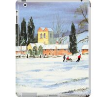 Sledding With Mum And Dad iPad Case/Skin