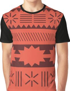 Moana Minimalist Pattern Graphic T-Shirt