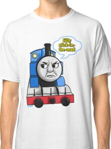 "Cheeky Thomas says ""Stick-in-the-mud!"" Classic T-Shirt"