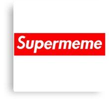 Super Meme Canvas Print