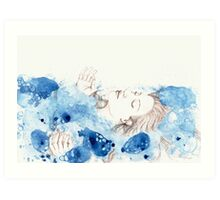 My Ophelia - Meditation on Water Art Print