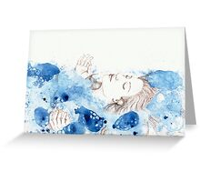 My Ophelia - Meditation on Water Greeting Card