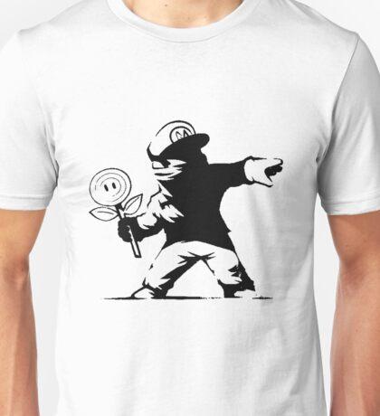 Mario the flower thrower Unisex T-Shirt