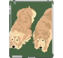 2 Golden Retrievers iPad Case/Skin