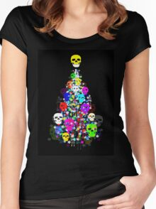 HAVE YOURSELF A ALT LITTLE CHRISTMAS Women's Fitted Scoop T-Shirt