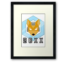 Fox 20XX Melee Shine Framed Print