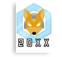 Fox 20XX Melee Shine Canvas Print