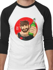 ADAM LIKES BEER Men's Baseball ¾ T-Shirt