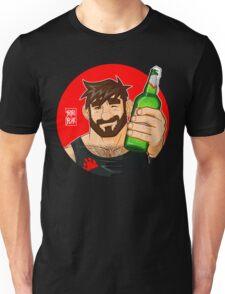 ADAM LIKES BEER Unisex T-Shirt