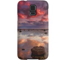 Long Reef Sunrise Samsung Galaxy Case/Skin