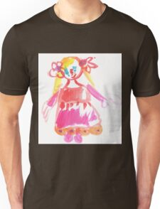 little Princess - child's drawing Unisex T-Shirt
