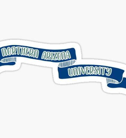 Northern Arizona University - Style 8 Sticker