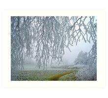 frosty dream.... Art Print