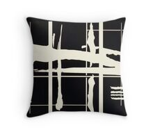 When East Meets West Throw Pillow