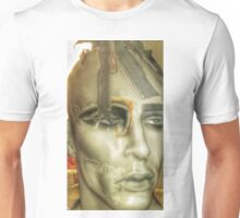Punk collage man Unisex T-Shirt