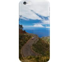Cloudy City on the Hill - Travel Photography iPhone Case/Skin