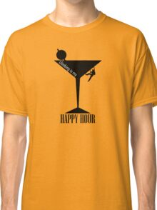 Climbing Is My Happy Hour Classic T-Shirt